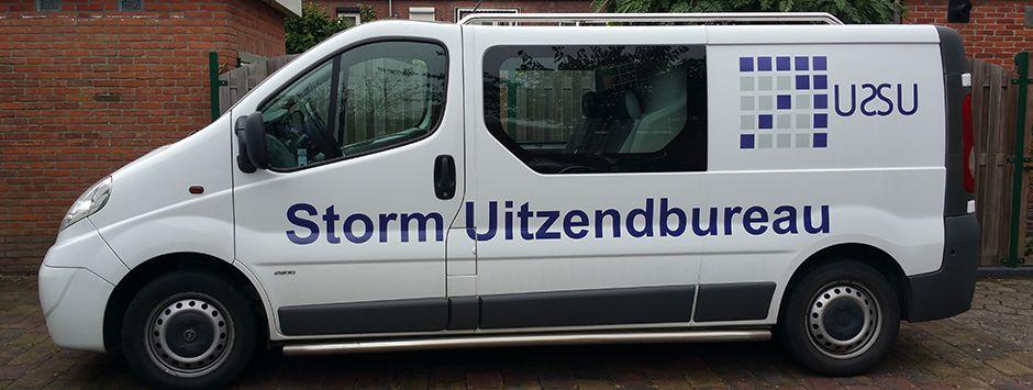 Autobelettering Storm Uitzenbureau