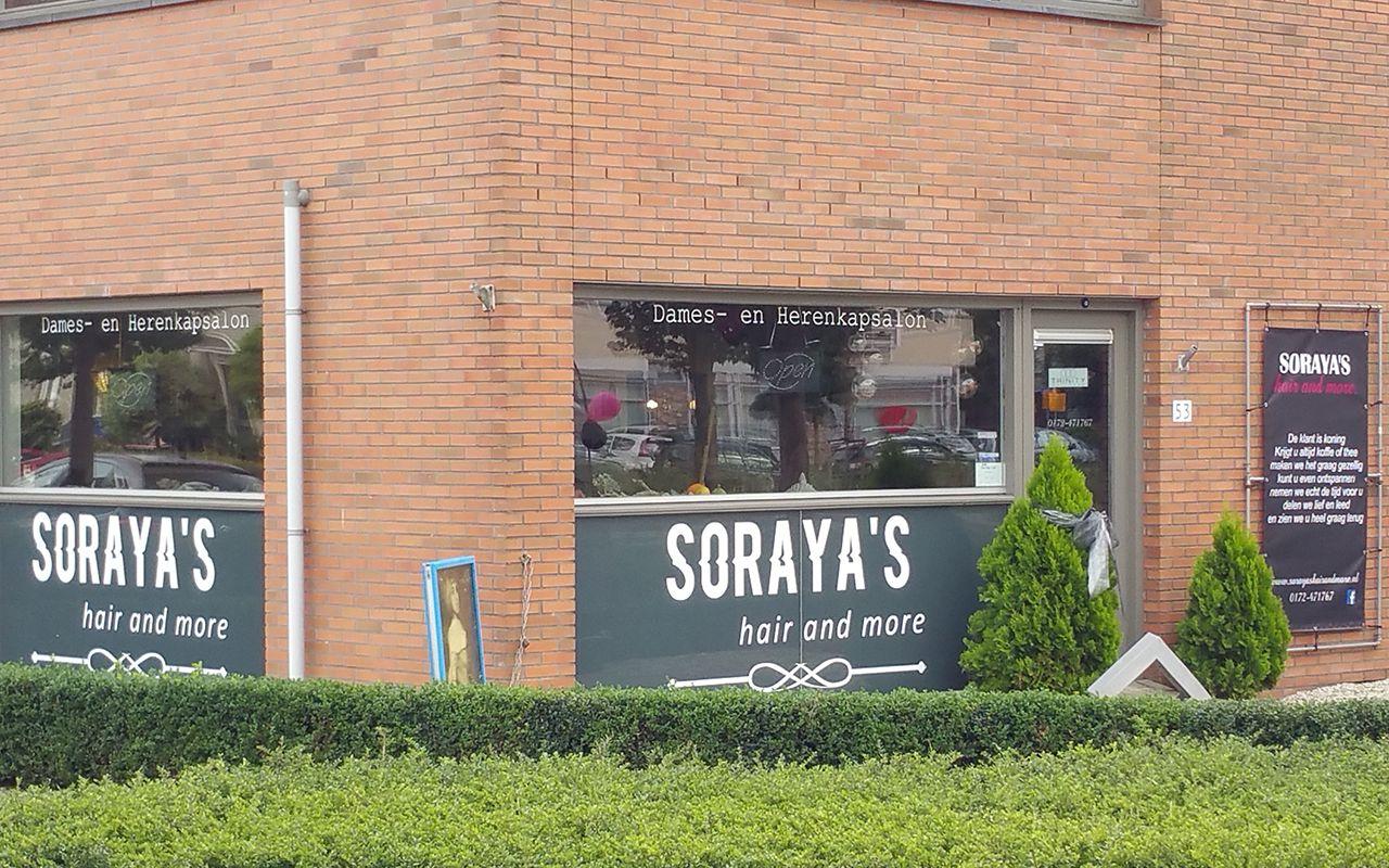 Gevelbelettering Soraya's
