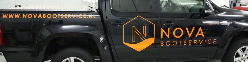 Autobelettering Nova bootservice