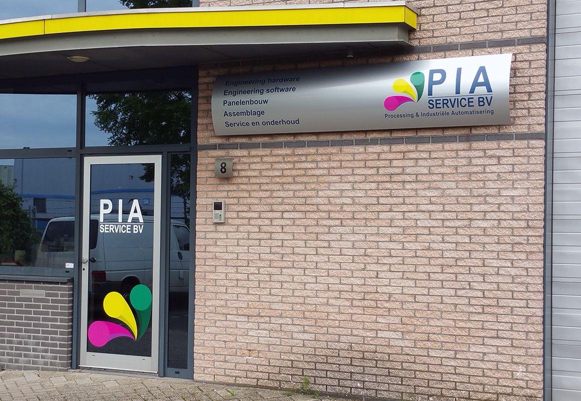Gevelbelettering Pia Service BV