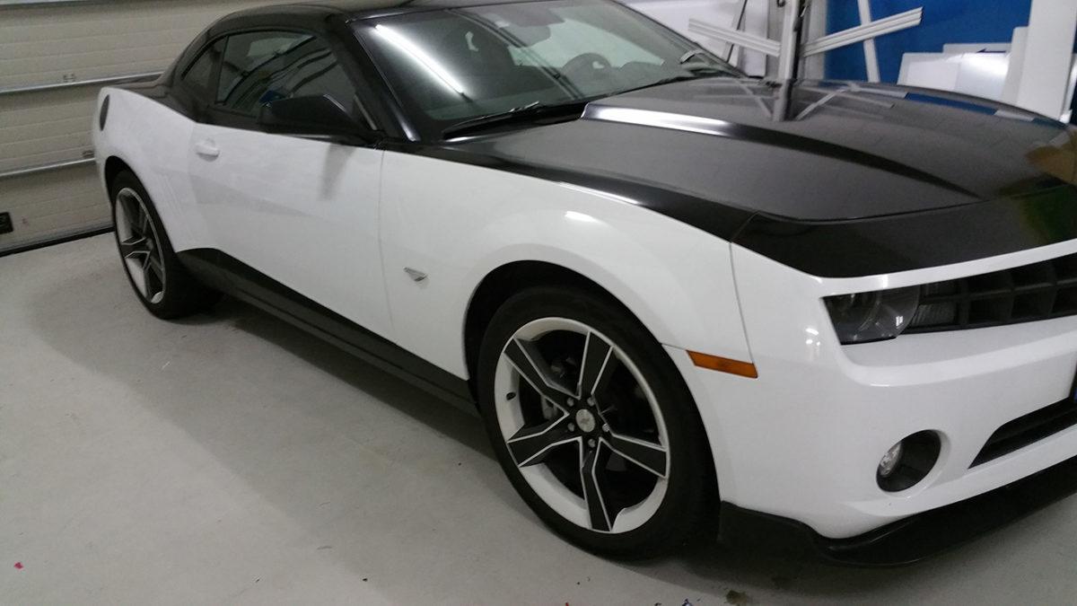 Autobelettering sportwagen