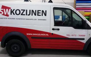 Autobelettering SW Kozijnen