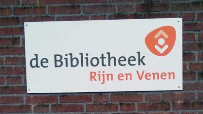 Gevelbelettering Bibliotheek Rijn en Venen